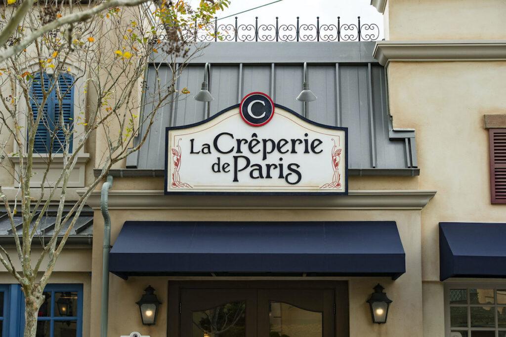 La Creperie de Paris, Epcot.