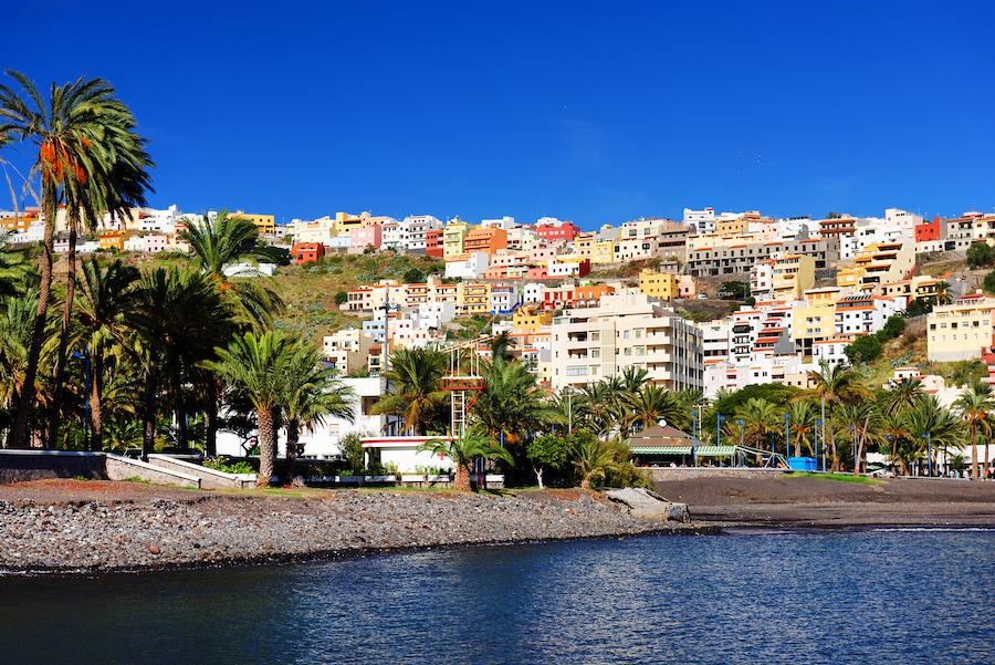 La Gomera in the Canary Islands.