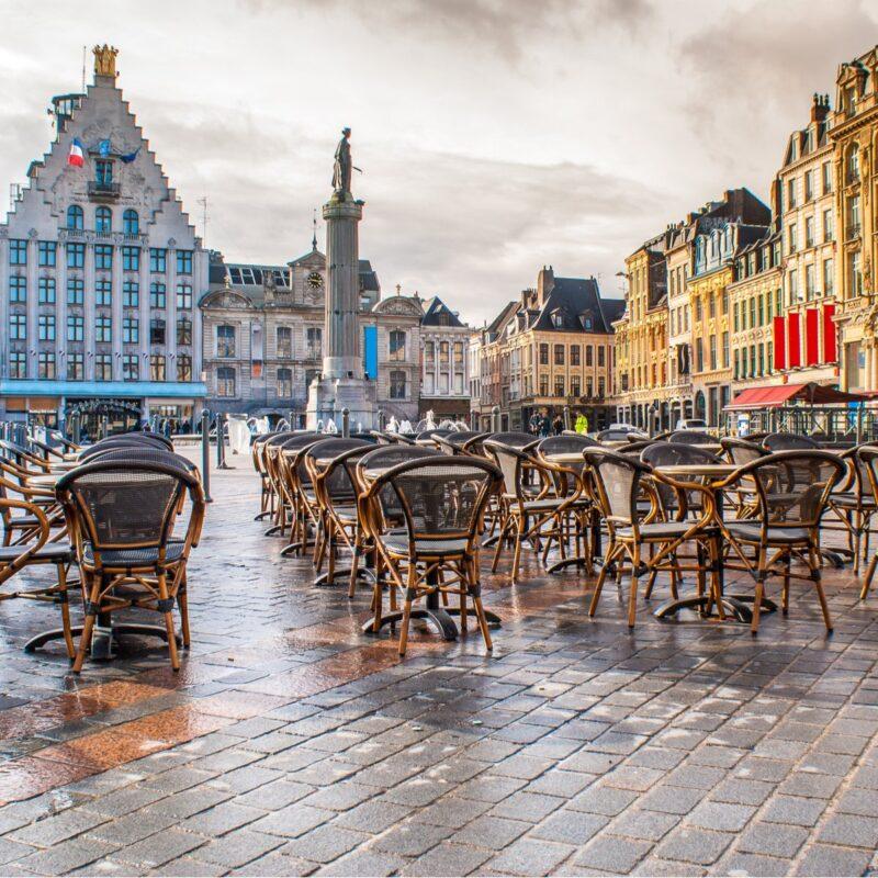 La Grand Place, Lille, France.