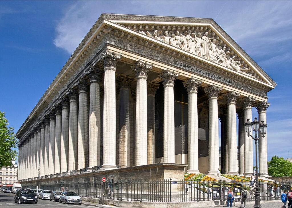 La Madeleine in Paris.
