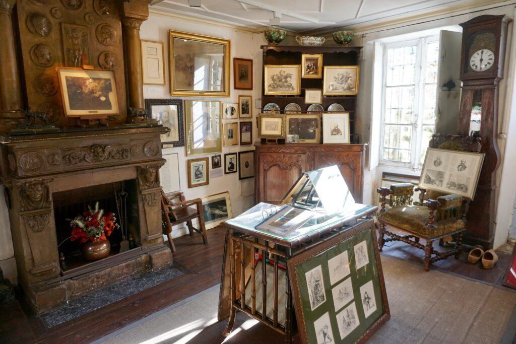 La Maison et Atelier de Jean-Francois Millet in Barbizon.
