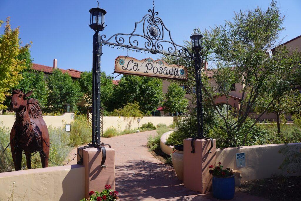 La Posada Hotel in Winslow, Arizona.