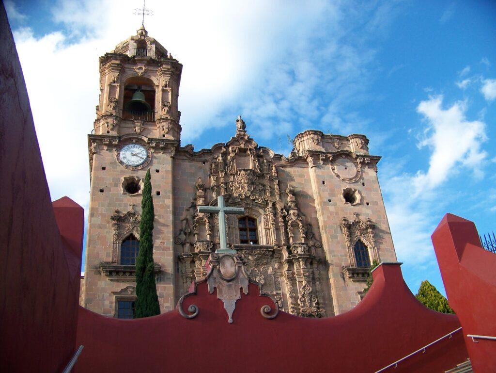 La Valenciana Church in Guanajuato.