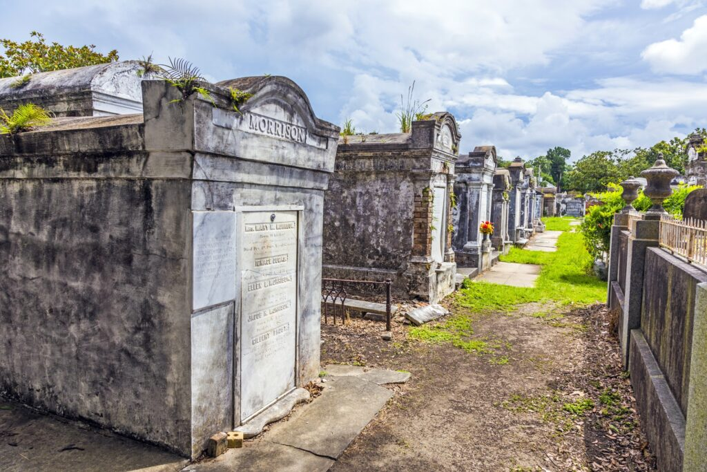 Lafayette Cemetery in New Orleans.