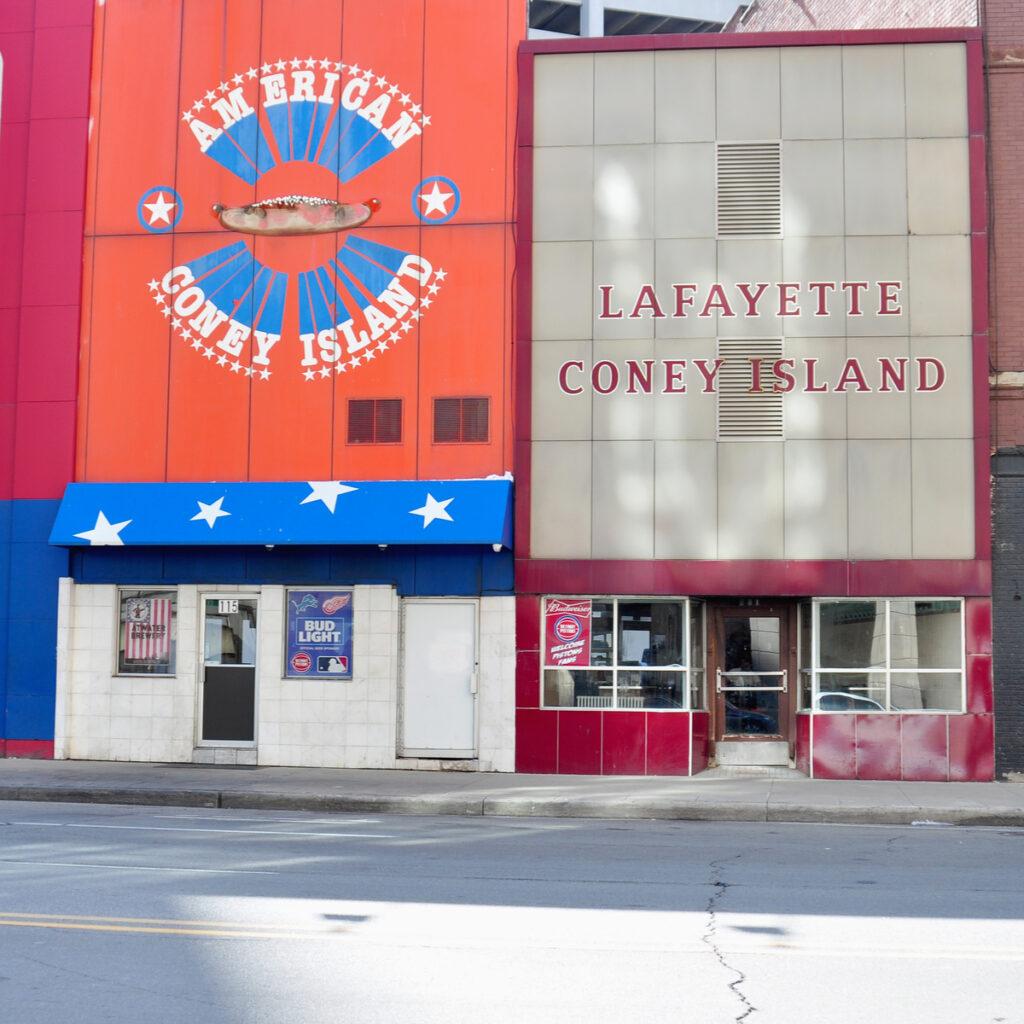 Lafayette Coney Island in Detroit.