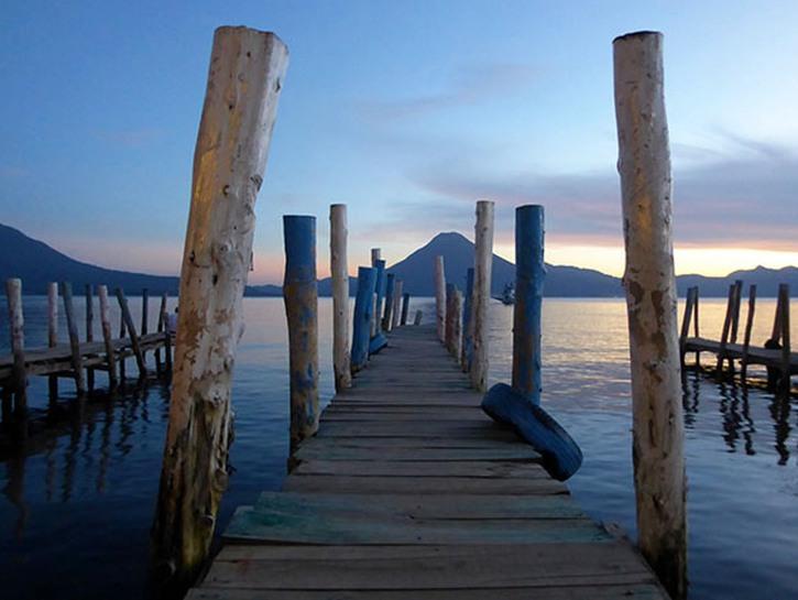 Lake Atitlan, Panajachel, Guatemala.