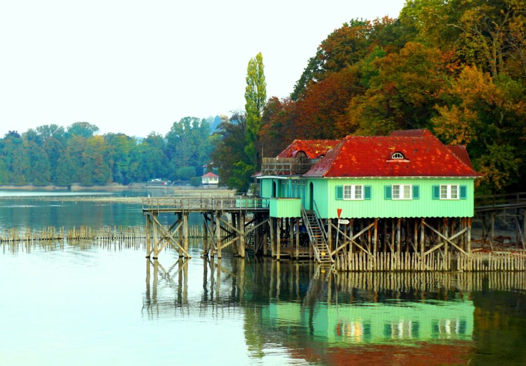 Lake Bodensee in Germany.