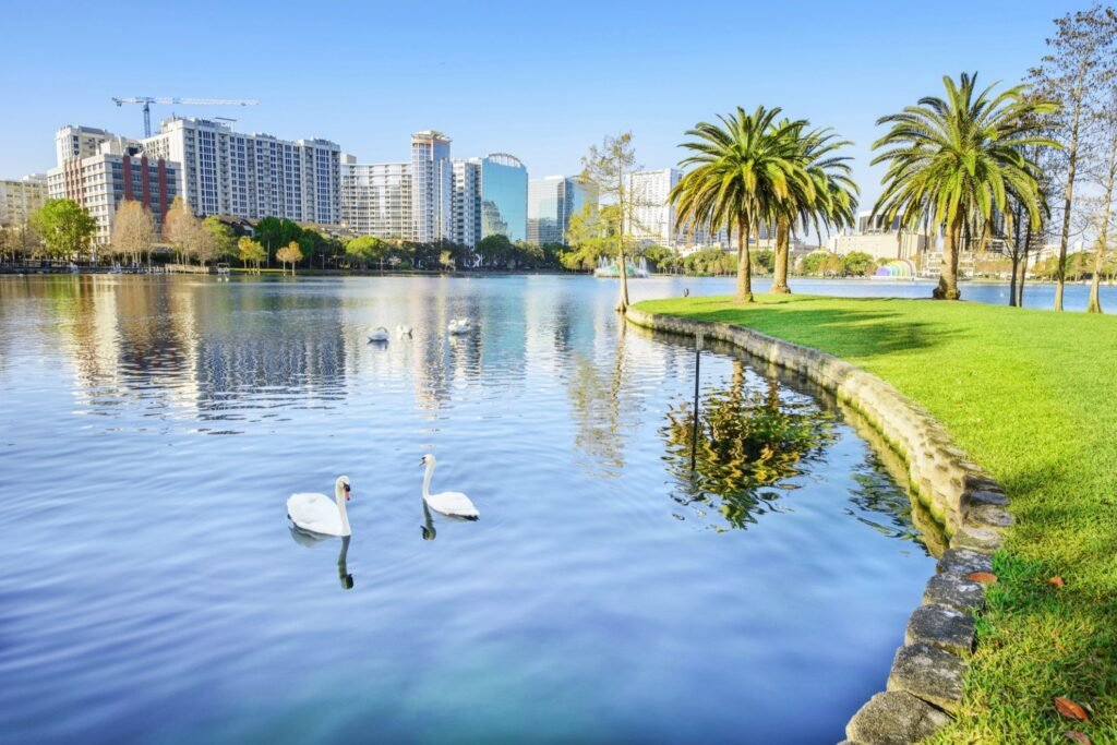 Lake Eola in Orlando.