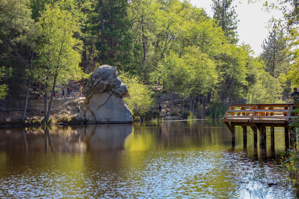 Lake Fulmor near Idyllwild, California.
