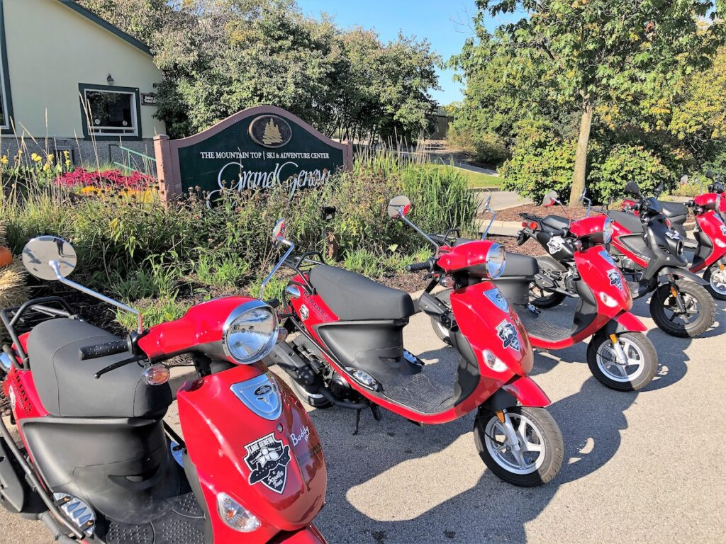 Lake Geneva Scooter Tours and Rentals in Wisconsin.