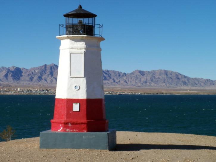 Lake Havasu lighthouse replica