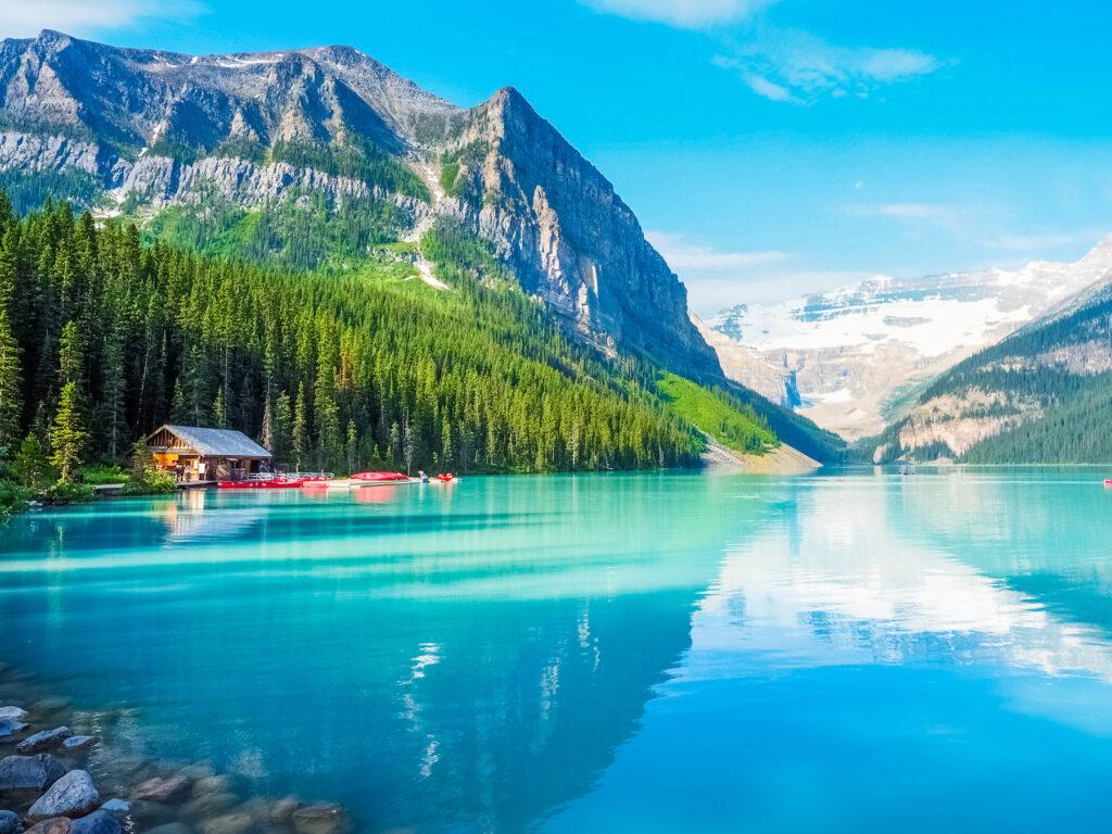 Lake Louise in Alberta, Canada.