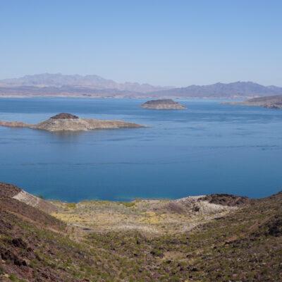Lake Mead near Boulder City, Nevada.