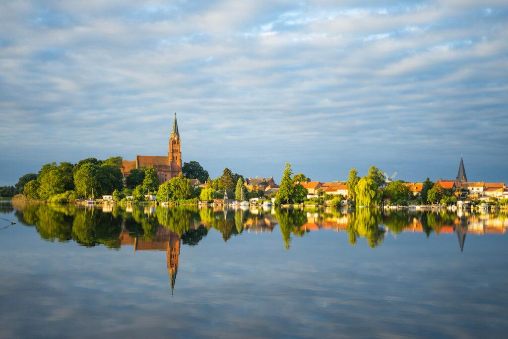 Lake Muritz in Mecklenburg-Vorpommern, Germany.