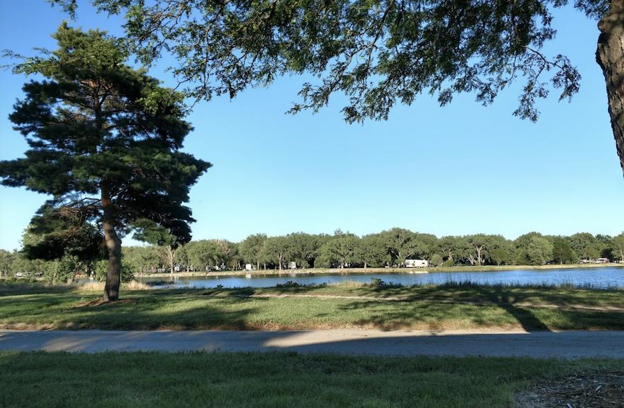 Lake Ogallala State Recreation Area in Nebraska.