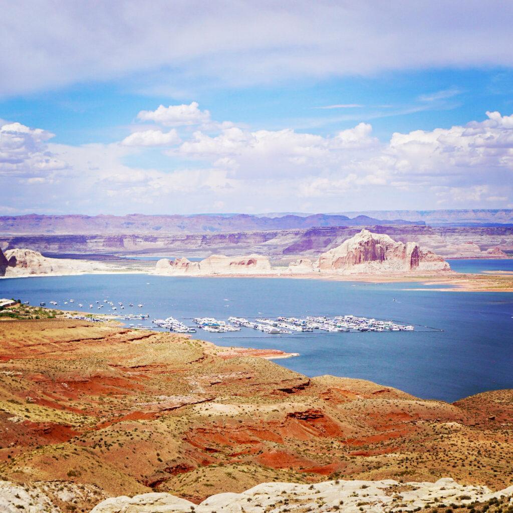 Lake Powell in Arizona.