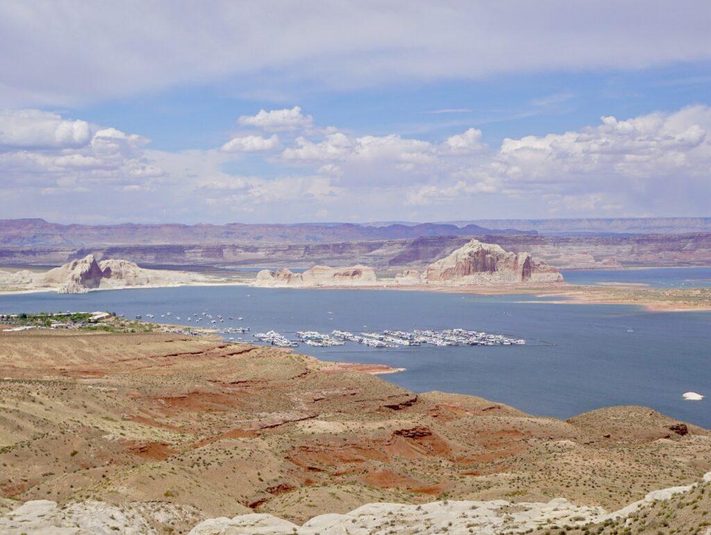 Lake Powell in Page, Arizona.