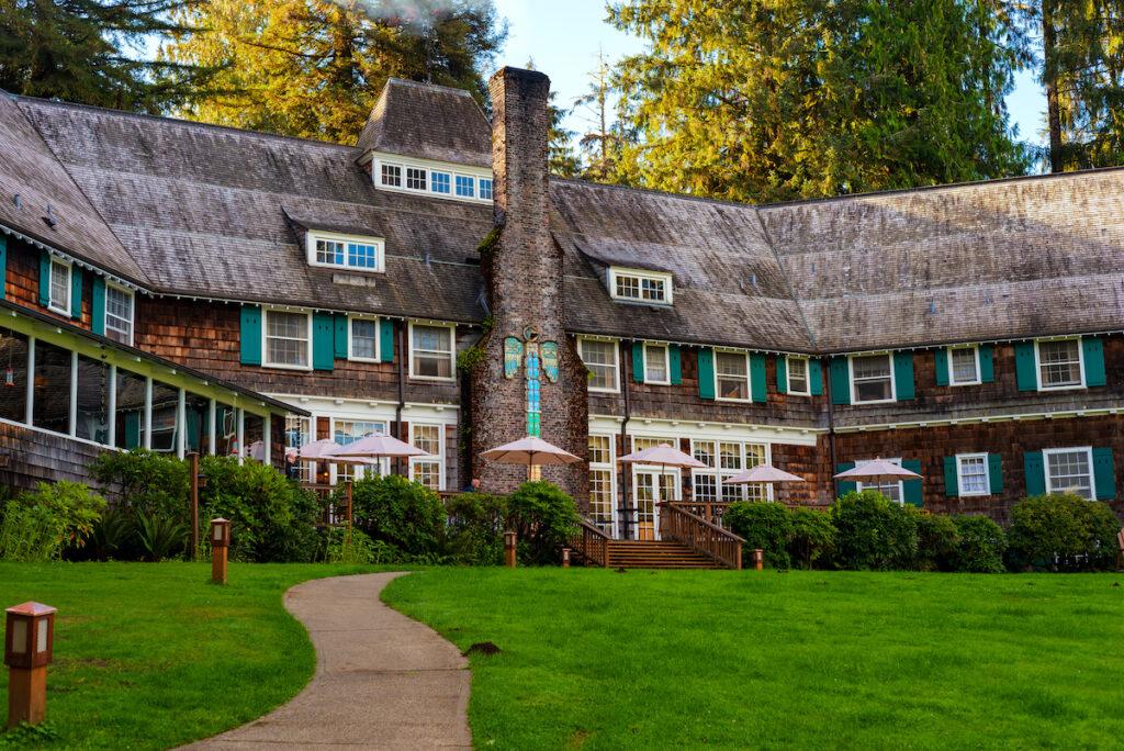 Lake Quinault Lodge in Washington.