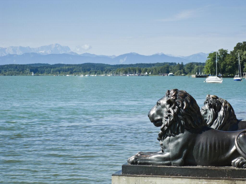Lake Starnberg in Bavaria, Germany.