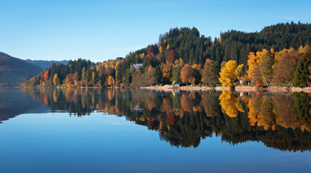 Lake Titisee in the Black Forest.