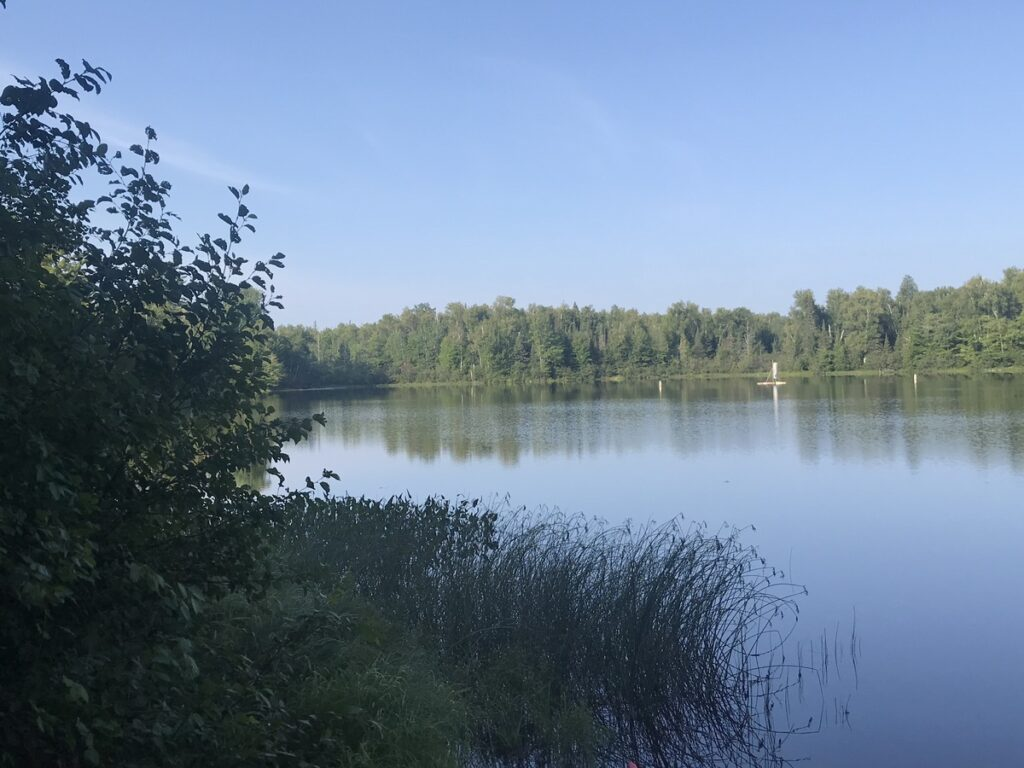 Lake views in Chequamegon-Nicolet National Forest.