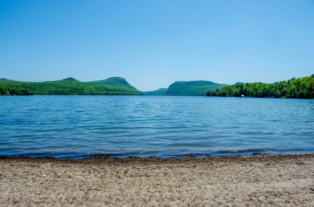 Lake Willoughby in Vermont.