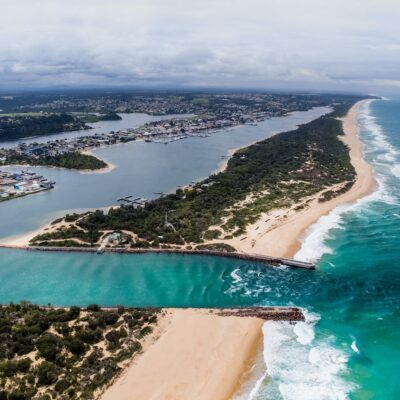 Lakes Entrance, Gippsland, Victoria, Australia.
