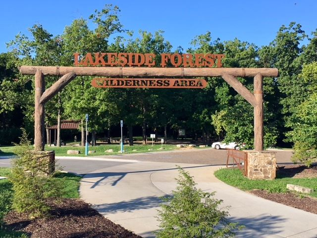Lakeside Forest Wilderness Area in Branson, Missouri.