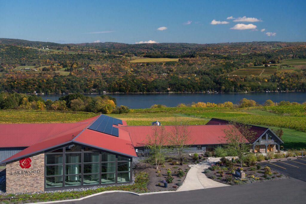 Lakewood Vineyards in the Finger Lakes region.