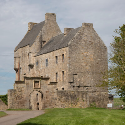 Lallybroch Castle and tours in Scotland.