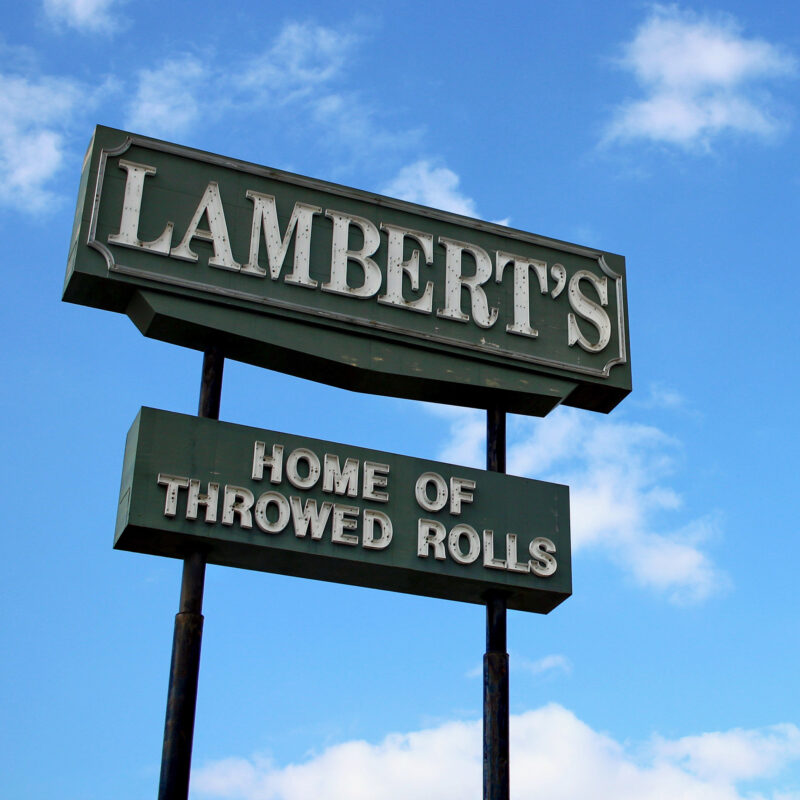 Lambert's Cafe in the Ozarks of Missouri.
