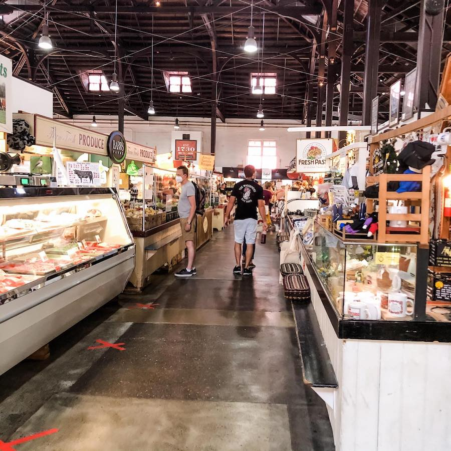 Lancaster Central Market in Pennsylvania.
