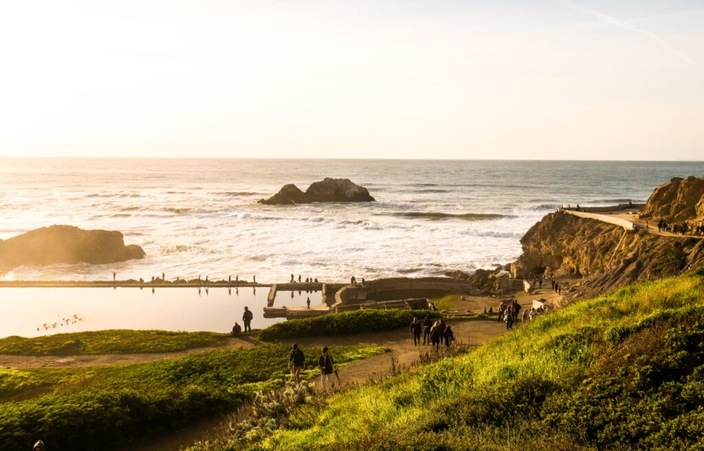Land's End in San Francisco.