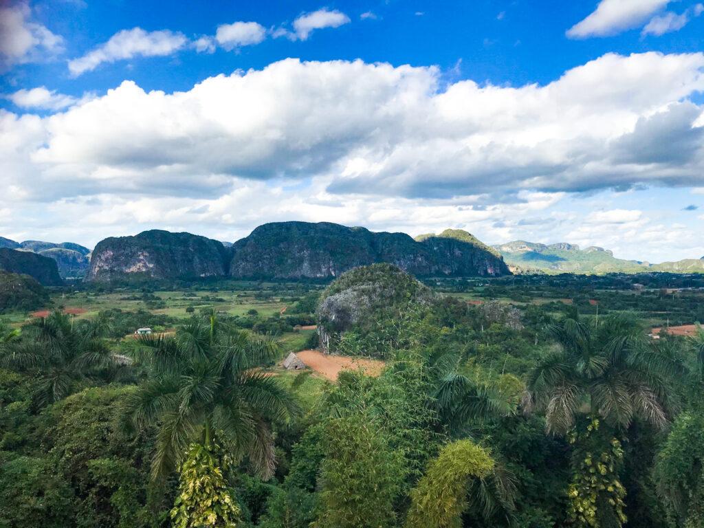 Landscape of Vinales Valley.