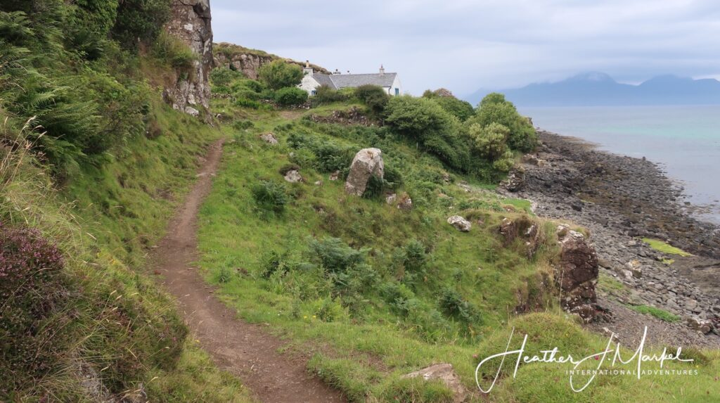 Landscape on the Isle of Muck.