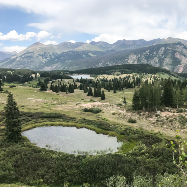 Landscape views from Molas Pass.