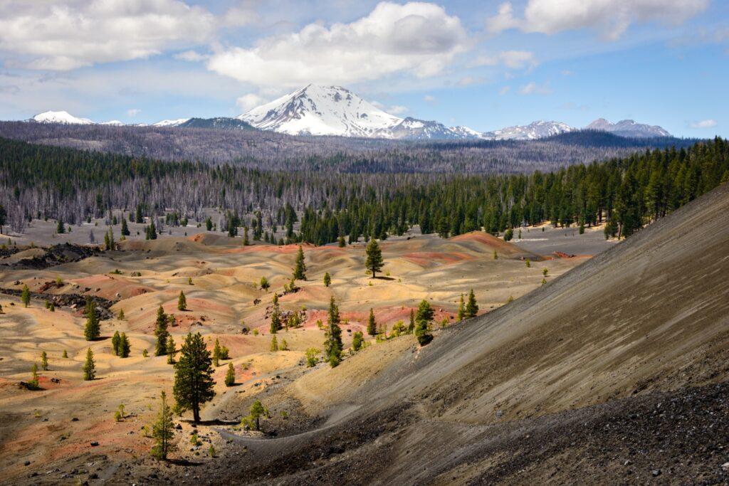 Lassen Volcanic National Park in California.