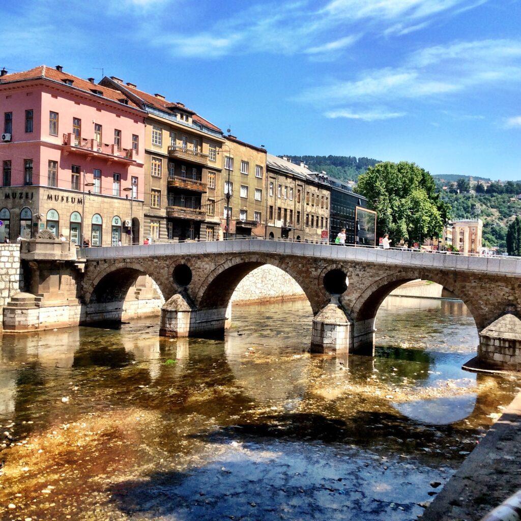 Latinski Most in Sarajevo, Bosnia and Herzegovina