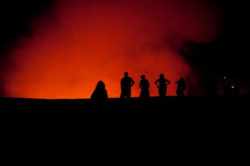 Lava At Masaya