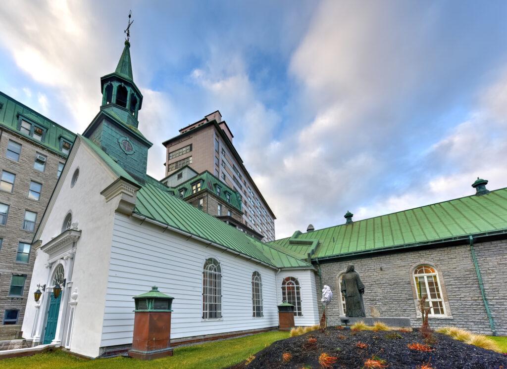 Le Monastere des Augustines in Quebec City, Canada
