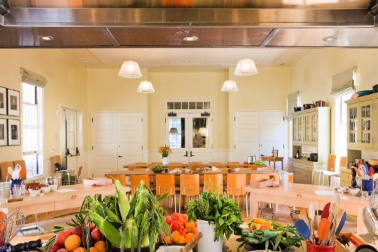 learning vacations might be cooking classes like at Cavallo Point