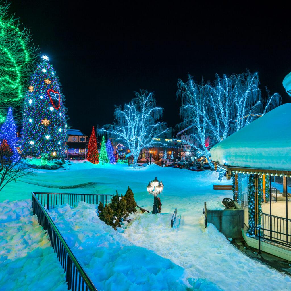Leavenworth Village Of Lights in Washington.