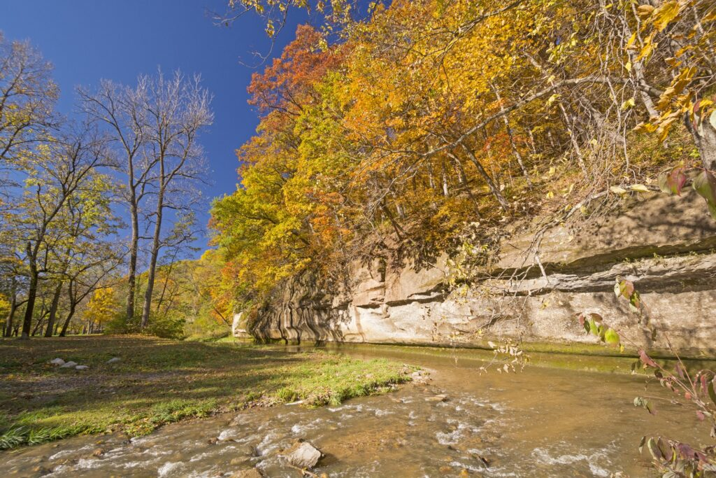 Ledges State Park in Iowa.