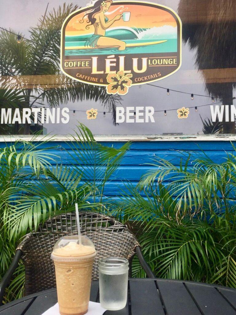 Lelu Coffee in Siesta Key, Florida.