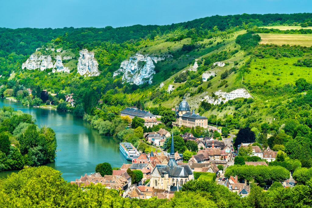 Les Andelys, Normandy, along the Seine.