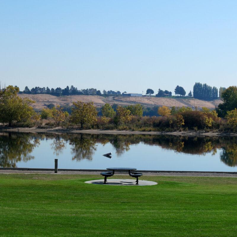 Leslie Grove Park in Richland, Washington.