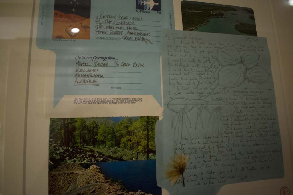 Letters from Australia at the Midland Hotel and Spa.