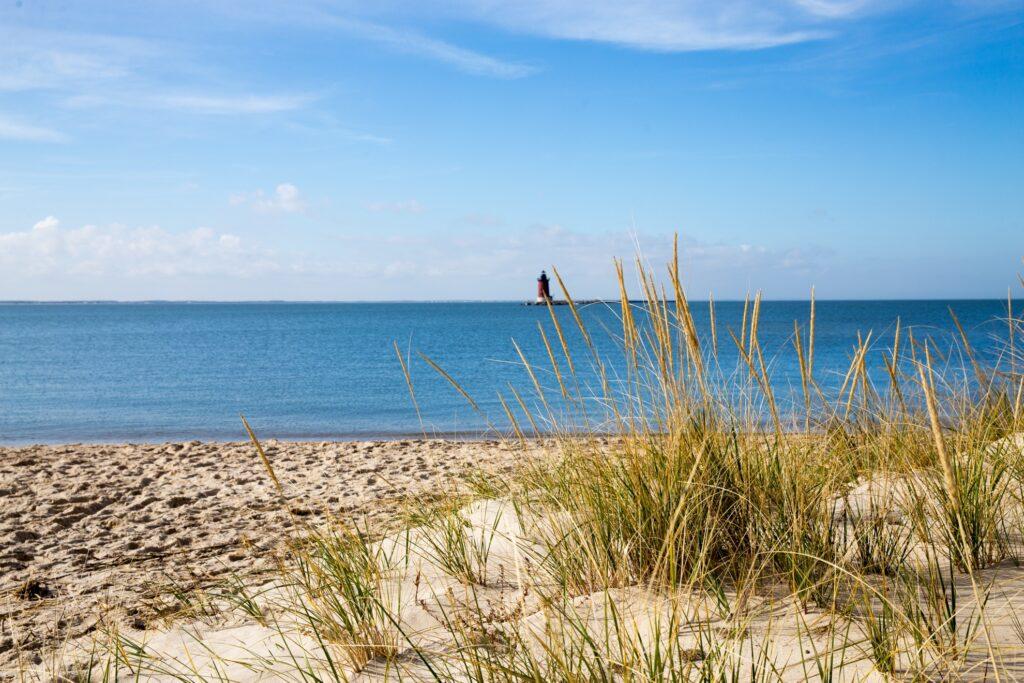Lewes Beach in Delaware.