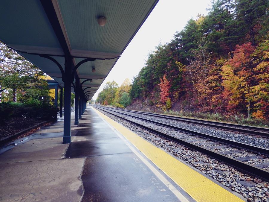 Lewisburg train depot in West Virginia.