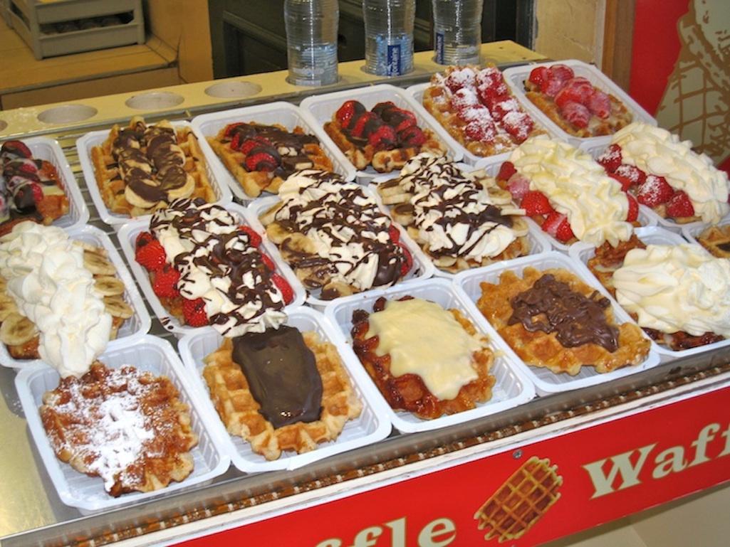 Liege Waffles in Belgium.
